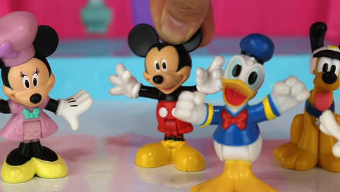 一起和米老鼠和唐老鸭玩橡皮泥玩具吧