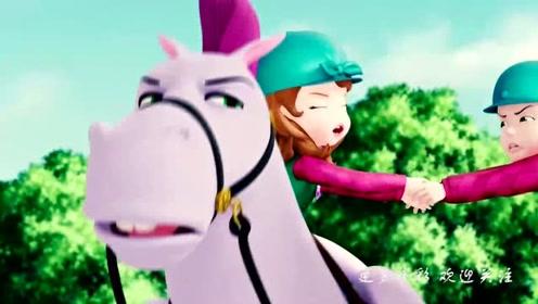 小公主苏菲亚:苏菲亚这样,再皮的人见了她都会喜欢上她吧