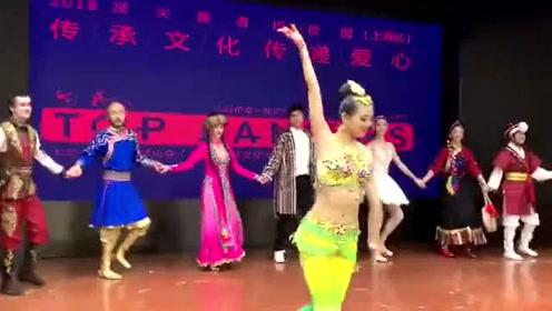 杨洋跳舞不跟男舞者牵手 怎么回事?