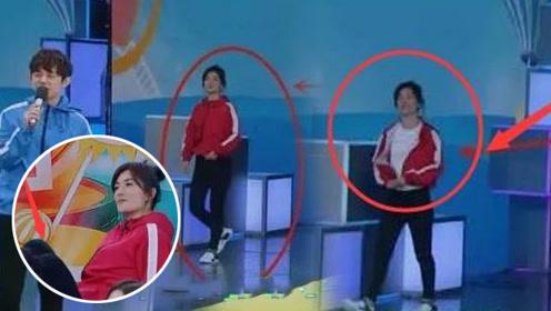 《快本》录制节目,谢娜3次跑下台惹争议,网友:照顾双胞胎?