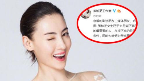 """快讯:张柏芝宣布三胎得子 爱子取名""""小王子"""""""