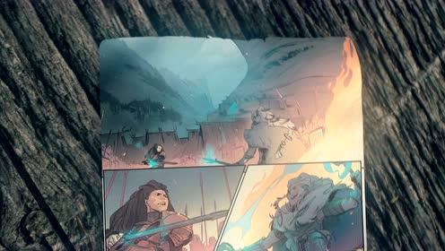 英雄联盟首部漫威合作漫画《艾希:战母》预览