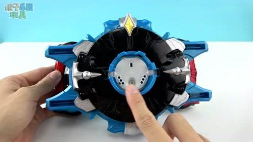 《橙子乐园在日本》开箱新玩具啦,这次是罗布奥特曼变身器罗布陀螺