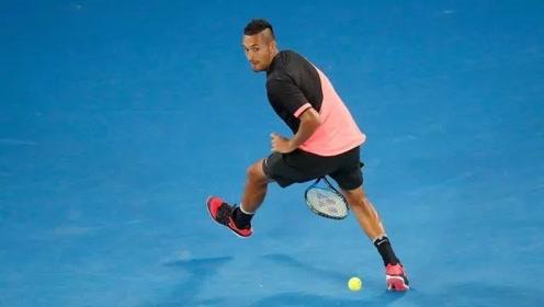 2018赛季ATP胯下击球精彩集锦 胯下击球也许是克耶高斯的最爱
