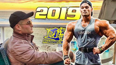 健体之王杰瑞米在新的一年刻苦训练用汗水证明他还是那个王者