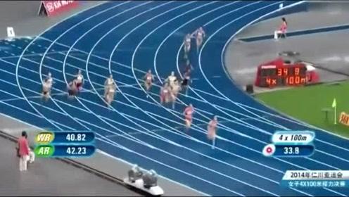 亚运会中国飞人创造历史,超越对手十米夺得金牌!太强啦!