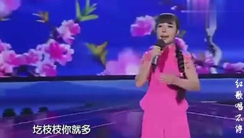 王二妮演唱的《桃花红》,真不愧是那个时代的经典!