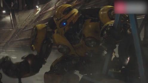 《大黄蜂》改版重来,大黄蜂单挑霸天虎,告诉你浓缩的才是精华