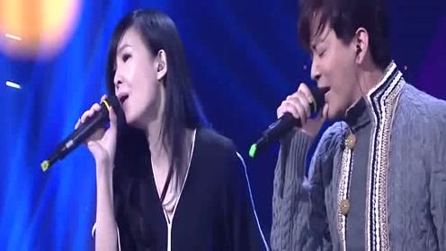 周慧敏与陈晓东合唱《流言》,唱尽恋人之间的真情实意感动人心!