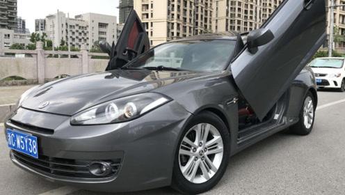 中国造永远不会翻的车,采用剪刀门设计,比普通汽车还厉害