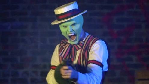 变相怪杰:男子戴上面具获得了超能力,成为超级英雄,维护世界和平!