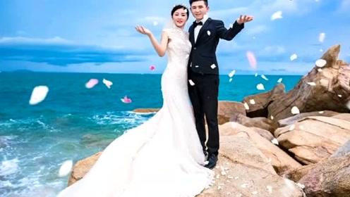 当婚纱照遇到科技特效,原来这才是唯美婚纱照,成品真好看