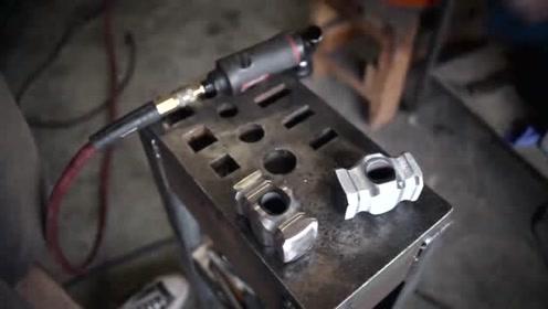 科技探索:铁匠打造一把铁锤子,这样的加工方式不多了