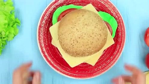 食物恶作剧:DIY用羊皮纸做成生菜的样子放在汉堡里给闺蜜吃,够损