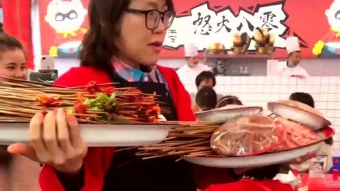家里没矿的人,都不敢请大胃王浪老师吃饭!吃个饭跟打仗一样的!