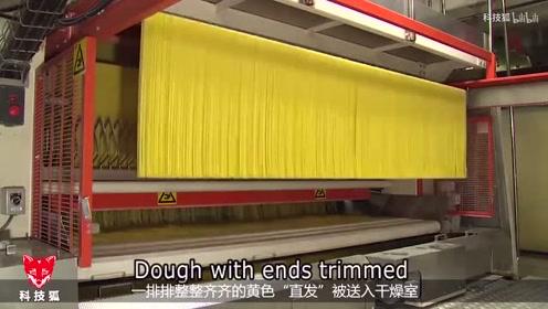 硬质小麦制成的意大利面的生产过程