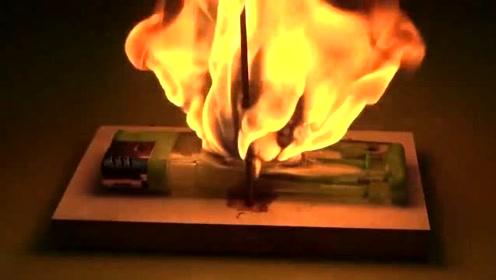 1000度火球放到打火机上,会爆炸吗