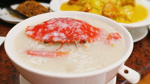 第一次去澳门,喝到一碗怀疑人生的水蟹粥!