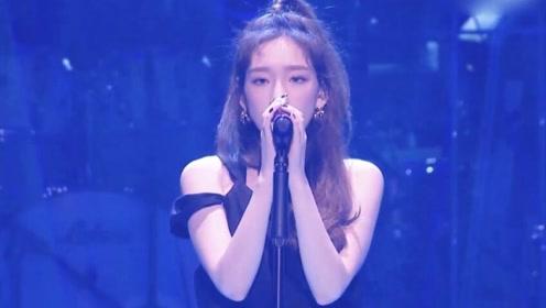 这还是我们认识的泰妍吗?演唱会化身小仙女,画面太唯美了!
