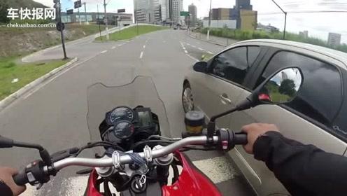 BMW F800GS街头骑行实拍