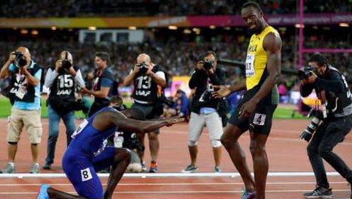 10年前博尔特是菜鸟,与加特林再相遇200米,19秒55碾压