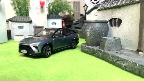 汽车模型定格动画:城市断油,各行各业陷恐慌