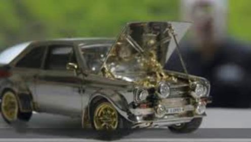 68万造辆玩具车?车身装备黄金钻石,连车灯都是红宝石做的!