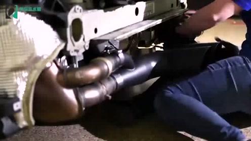 给保时捷911 GT3换排气管,踩一脚油门才知道声浪有多霸气