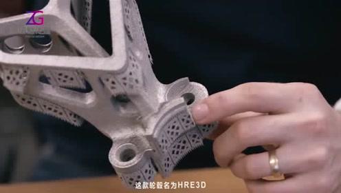 轮毂也能3D打印了?首款3D打印钛合金轮毂面世!