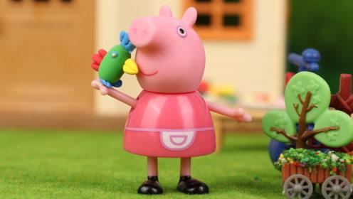 小鸟波利生病了,猪爷爷很着急,小鹿杏仁帮忙给波利检查身体!