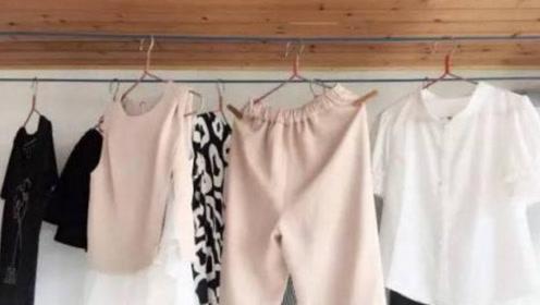 学会这个小妙招,衣服挂多久都不变形!