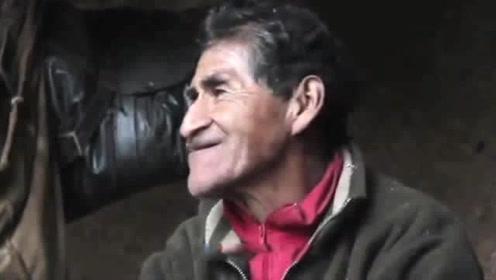 79岁老人隐居山洞40年没水没电 现在的模样让人羡慕