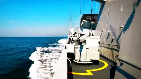 北部战区海军某护卫舰支队开展多科目实弹射击训练 视频版来啦