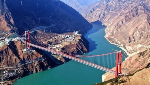 新康特大桥,这是绝无仅有的中国式奇迹,中国高度的标志