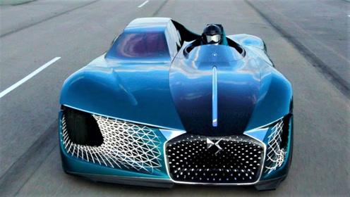 2035年概念跑车,不对称设计颠覆你对车的理解!