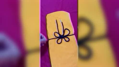 女人最爱的蝴蝶结系法教程,喜欢的收藏吧!