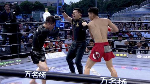 少林俗家弟子仅凭第一拳老外被捶懵,解说直呼太可怕,逼裁判停赛