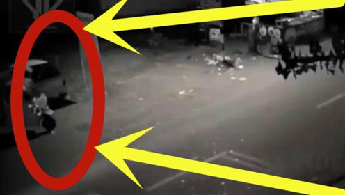监控拍下真实情况,深夜男子正要开车回家,结果却发生这样的事!