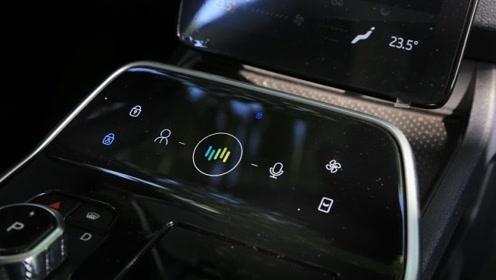 采用触控面板,这样的威马EX5车内更清爽