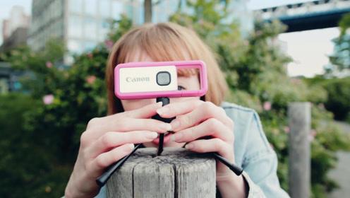 佳能推出迷你相机,体型小、颜值高,关键还能在水下使用