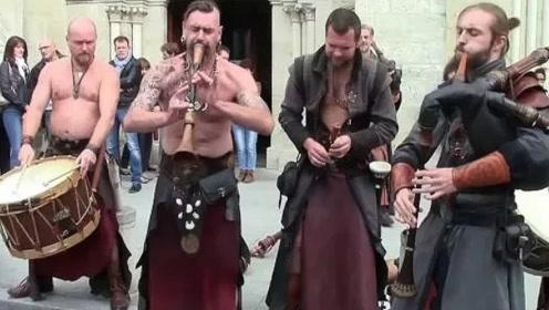 俄罗斯民间乐器演奏的音乐,太好听了
