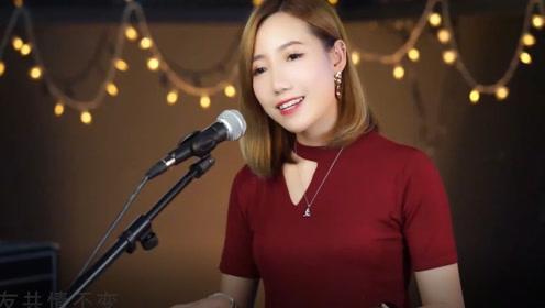 超甜的小姐姐自弹自唱粤语歌《友共情》超级有味道,点赞点赞