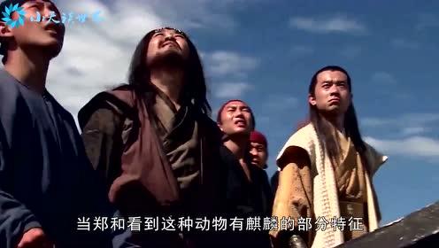 """郑和下西洋曾带回一神兽""""麒麟"""",皇帝亲自迎接,后人看到却笑了"""