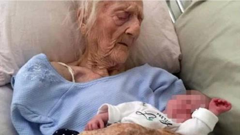 """92岁老太怀""""怪胎"""",竟然怀孕60年未生产,医生:闻所未闻!"""