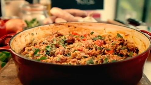 生米也能做炒饭,香辣可口别有一番滋味