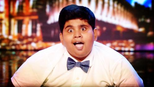 印度小胖墩一个动作,观众全体起立,接下来的操作太绝了!