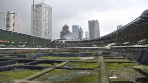 容纳4万人的体育场馆发现考古遗迹,足球场如今成大工地
