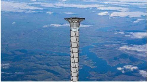 加拿大建立高塔,高20公里,上面还有机场,起降航天飞机