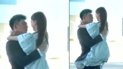吴谨言黄景瑜吻戏路透曝光,两人机场亲密拥吻被赞好有CP感