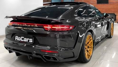 高清实拍2019款保时捷帕拉梅拉GTR碳纤维版